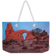 Turret At Sunrise Weekender Tote Bag