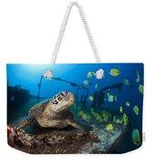 Turtle And Sealife Weekender Tote Bag