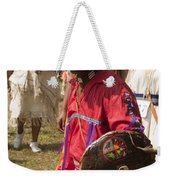 Turtle Shield Dancer Weekender Tote Bag