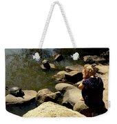 Turtle Time Weekender Tote Bag