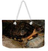 Turtle Time On The Rocks Weekender Tote Bag