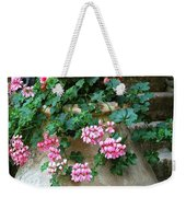 Tuscan Earthenware Pot And Flowers Weekender Tote Bag