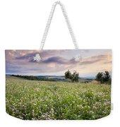 Tuscany Flowers Weekender Tote Bag