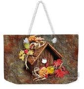 Tweet Little Bird House Weekender Tote Bag by Andee Design
