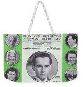 Twenty-four Hours A Day Weekender Tote Bag