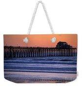 Twilight At Imperial Pier Weekender Tote Bag
