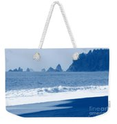 Twilight Blue Weekender Tote Bag