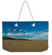 Twilight During A Sunset At A Beach With Beautiful Clouds Weekender Tote Bag