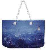 Twilight In Bath, England Weekender Tote Bag