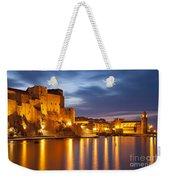 Twilight In Collioure Weekender Tote Bag by Brian Jannsen