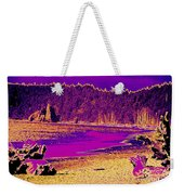 Twilight On La Push Beach Weekender Tote Bag
