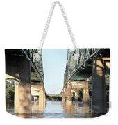 Twin Bridges Weekender Tote Bag