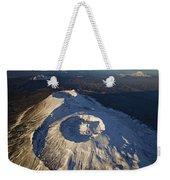 Twin Craters Atop Krasheninnikov Weekender Tote Bag