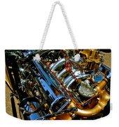 Twin Engines Weekender Tote Bag