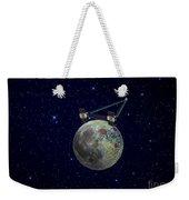 Twin Grail Spacecraft Map The Moons Weekender Tote Bag