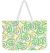 Twirls Weekender Tote Bag by Louisa Knight