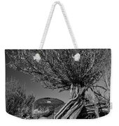 Twisted Beauty - Bw Weekender Tote Bag by Christopher Holmes