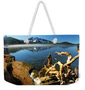 Twisted On The Shore Weekender Tote Bag