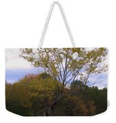 Twisty Weekender Tote Bag