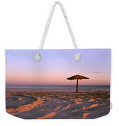 Two Beach Umbrellas Weekender Tote Bag