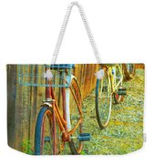 Two Bicyles Weekender Tote Bag