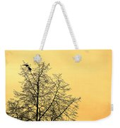 Two Birds In A Tree Weekender Tote Bag