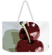 Two Cherries Weekender Tote Bag