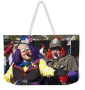Two Clowns Weekender Tote Bag