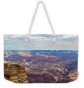 Two Crows Watch Over The Canyon Weekender Tote Bag