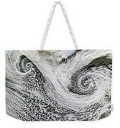 Two Cyclones Forming Weekender Tote Bag