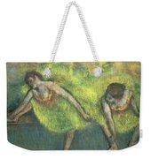 Two Dancers Relaxing Weekender Tote Bag