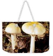 Two Death Cap Mushrooms Weekender Tote Bag