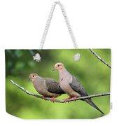 Two Doves Weekender Tote Bag