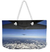 Two Ec-130j Commando Solo Aircraft Fly Weekender Tote Bag