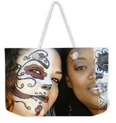 Two Faces Weekender Tote Bag