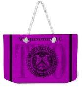 Two In Purple Weekender Tote Bag