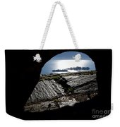 Two Islands On A Lake With A Arch Weekender Tote Bag