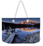 Two Jack Lake Banff Canada Weekender Tote Bag