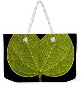 Two Lobed Leaf Weekender Tote Bag