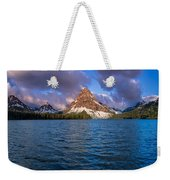 Two Medicine Morning Panorama Weekender Tote Bag