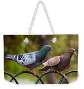 Two Pigeons Weekender Tote Bag