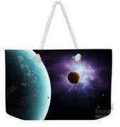 Two Planets Born From The Same Star Weekender Tote Bag