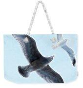 Two Seagulls Weekender Tote Bag