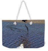 Two Strutting Egrets Weekender Tote Bag