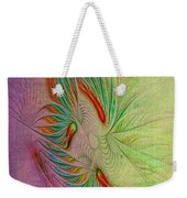 Two Tone Frac Abstract Weekender Tote Bag