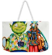 Two Tourists True Weekender Tote Bag