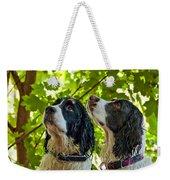 Two Wet Puppies Weekender Tote Bag