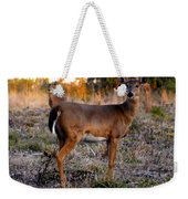 Two White Tails Weekender Tote Bag