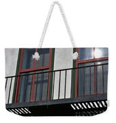 Two Windows Weekender Tote Bag