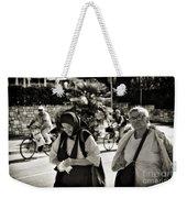 Two Women In Rovinj 2 Weekender Tote Bag